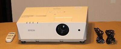 Epson PowerLite 6110i Projector 3LCD 3500 Lumens. Hours used on Lamps 11 to 169