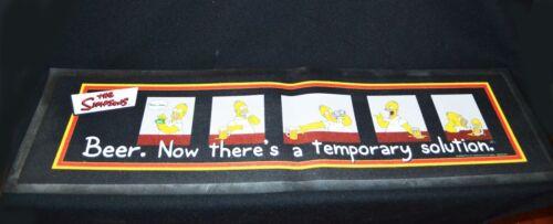 The Simpsons Rubber Backed Beer Mat 2001 Twentieth Century Fox 90cm x 25cm