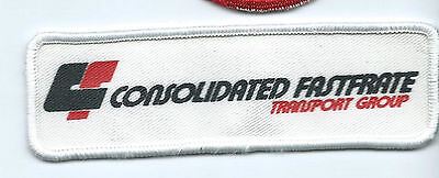 Cf Consolidated Fast Frate Transport Group Driver Patch 1 1 2 X 5