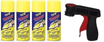 Performix Plasti Dip Daytona Yellow 4 Pack Spray Aerosol Cans Wheel Kit Tigger