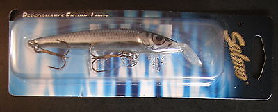Salmo Floating Minnow M5F-SMD in Silver Metalilic Dace for Crappie//Trout//Perch