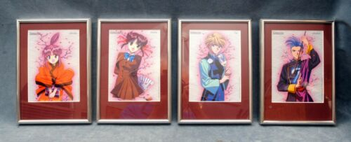 4X FUSHIGI YUGI FRAMED CARDS (PK)