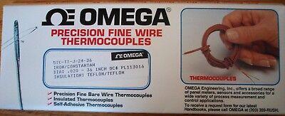 Omega 5tc-tt-j-24-36 Precision Fine Wire Thermocouples 5 Pack