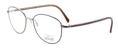 SILHOUETTE Legends 3505 6053 Rx Eyeglasses Frames 52-17-125 Retro Brown AUSTRIA