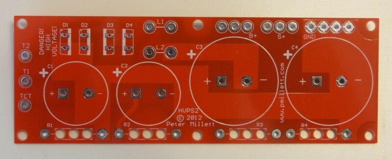 DIY PCB - Power supply board for tube amps