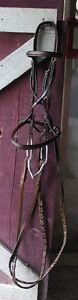 "Top quality dark leather FS ""hunter"" bridle for sale"