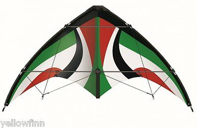 Gunther 1033 Air Sport Rapido 135GX Stunt Kite Lightweight Fibreglass Frame New