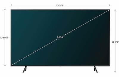 Samsung QN65Q60RAFXZA Flat 65'' QLED HDR 4K HD Amazon Alexa Google 2019 OPEN BOX