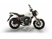 *Brand New* 17 Plate: Keeway RKV 125cc Warranty. Free Delivery. Main Dealer: 18-03