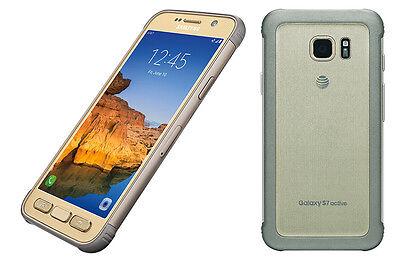Samsung Galaxy S7 active SM-G891 32GB Gold (AT&T) Unlocked Very Good