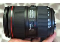 Canon 24-105 mm L IS F4 - version ii - mint condition