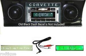 1968-1976 Corvette Radio --- Free AUX Cable Stereo 230 **
