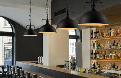 Aluminum Retro Industrial Suspended Ceiling Lamp Light Shade w/Bulb Indoor Decor