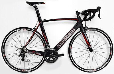 4823d425dba STRADALLI CYCLING CARBON FIBER AVERSA ULTEGRA VISION ROAD BIKE BICYCLE 59CM  XL