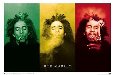 "~~ BOB MARLEY ""SMOKE"" 36X24 POSTER ~~"