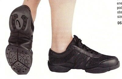 Adult Dance Sneakers Capezio Ds27 Impact Trainer Black 12...