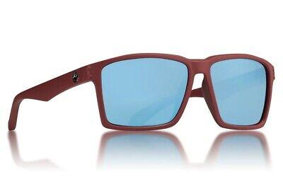 NEW Dragon Method Matte Redwood Blue Ion Mens Tr90 Square Sunglasses (Method Sunglasses)