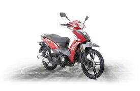 *Brand New* 17 Plate: Keeway Target 125cc. Warranty. Free Delivery. Main Dealer: