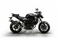 *Brand New* 17 plate Hyosung GT 650 P 2017. Warranty, Free delivery, Part-Ex