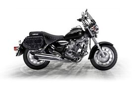 *Brand New* 17 Plate: Keeway Superlight 125cc. Warranty. Free Local Delivery. Main Dealer: 25-05