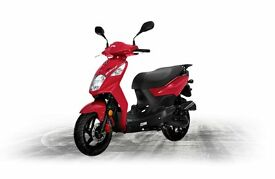*Brand New* 17 Plate. Sym Symply II 125cc. Warranty. Free Delivery. Main Dealer.