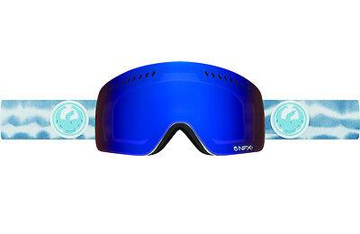 Dragon Alliance NFXs Ski Goggles Onus Blue ionized + bonus Yellow lens New