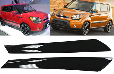 Genuine Front Wind Shield Pillar Trim Garnish Molding (Fits: KIA 2010-2013 Soul)