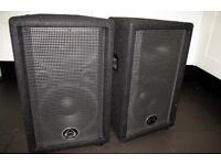 Wharfedale Pro PA speakers 300w peak handling