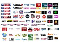 Ccam & Iptv channel's including : UK & Ireland, Indian, Muslim, Russian channels.