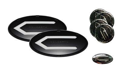 3D Concepto Emblem Badge BBW Set 7pc Fit: KIA 2010-2016 SOUL