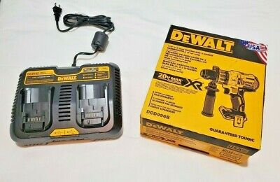 New Dewalt Dcd996 20v Max Xr Brushless 12 Hammer Drill With Battery Charger