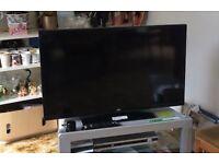 JVC flat screen tv 40 inch led screen