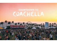 2x WEEKEND 2 COACHELLA TICKETS