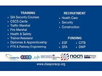 Security Training, CSCS , Traffic Marshal & Fire Marshal Training