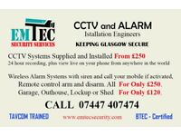 CCTV AND WIRELESS ALARM INSTALLERS