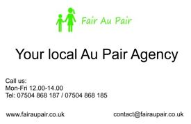 Fair AuPair your local Au PAir agency based in Oxted , Surrey