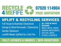 Waste Uplifts Fife Area