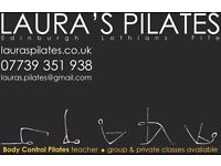 Pilates classes in Edinburghs west end