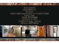 Professional Carpenter, Kitchen Fitter, Builder, Handyman