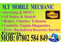 Mobile Mechanic in Mitcham South London Very Reliable