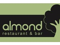 Experienced Assistant Restaurant Manager required for Almond Restaurant & Bar in West Derby Village