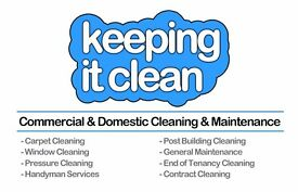 Full time end of tenancy, and domestic cleaners required