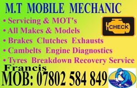 Mobile Mechanic in Birmingham Dudley Wolverhampton