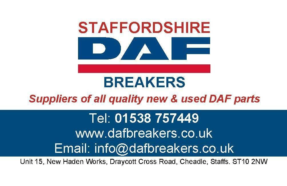 Staffordshire DAF Breakers Ltd