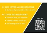 REPAIR SERVICE Coffee machines bean to cup commercial REPAIR SERVICE