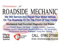 Roadside Mobile Mechanic ' Auto Electrics ' Diagnostic ' Service And Repair.