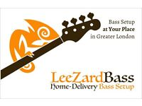At-Your-Place Bass Guitar Professional Setup - anywhere in Greater London (to zone 6) - £35 to £45