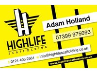 Highlife Scaffolding - Scaffold Erection & Dismantling Specialists