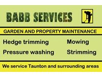 Gardening Services and Landscaping In Taunton: Lawn Mowing, Strimming, Hedge Trimming