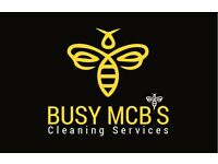Busy McB's. End of Tenancy & Domestic Cleaner. Office & Stair Cleaning. Professional Cleans.